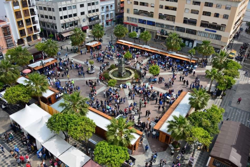 Diverciencia Virtual en la Plaza Alta de Algeciras