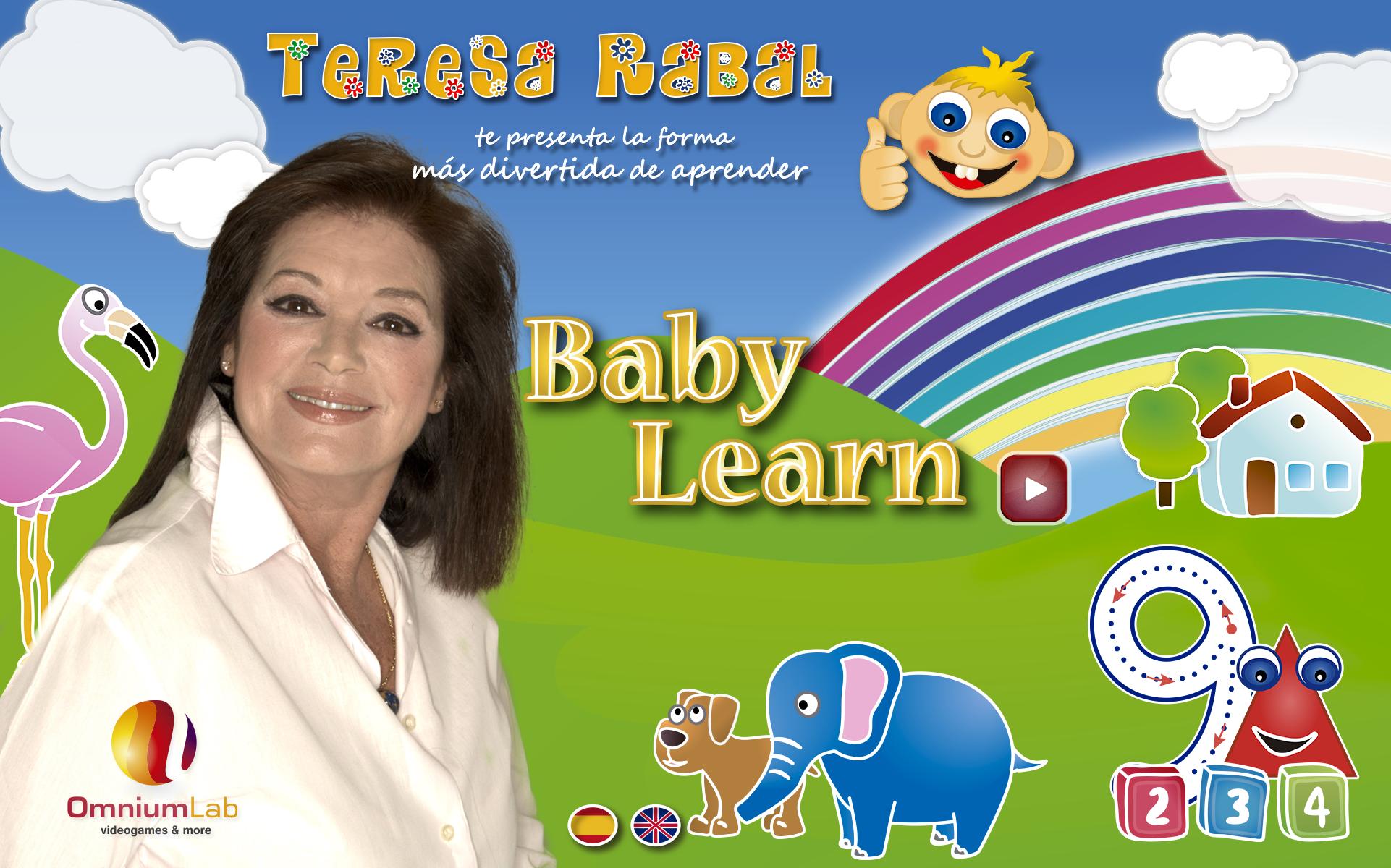 Teresa Rabal, App Baby Learn de educación infantil temprana